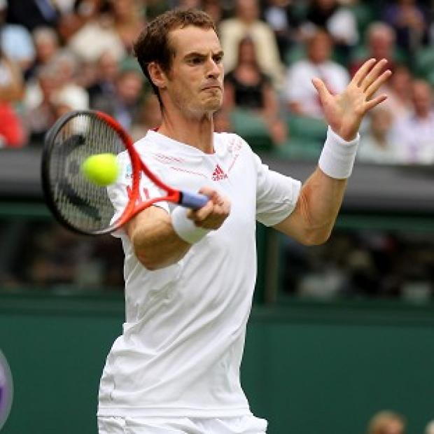 Andy Murray (pictured) showed no remorse in his straight-sets win over Nikolay Davydenko