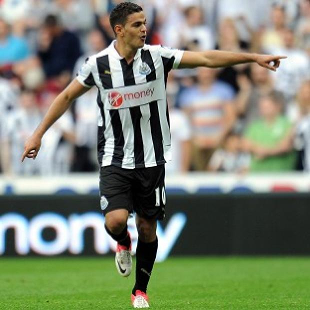 Hatem Ben Arfa converted a second-half penalty to win the match for Newcastle