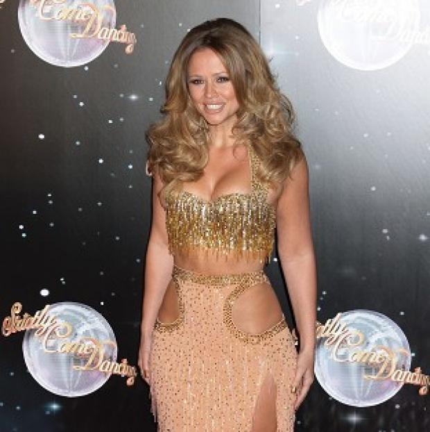 Kimberley Walsh at the launch of Strictly Come Dancing 2012