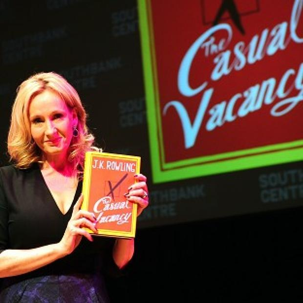 JK Rowling's The Casual Vacancy has sold 375,000 copies so far in the US