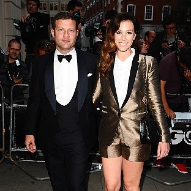 Dermot O'Leary and Dee Koppang married last month