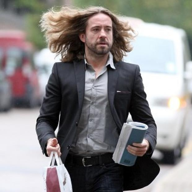 Justin Lee Collins has been found guilty of harassing his former girlfriend