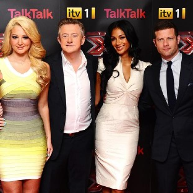 The X Factor won the ratings battle on Sunday night