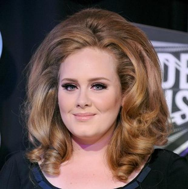 Adele came second in the best-selling list