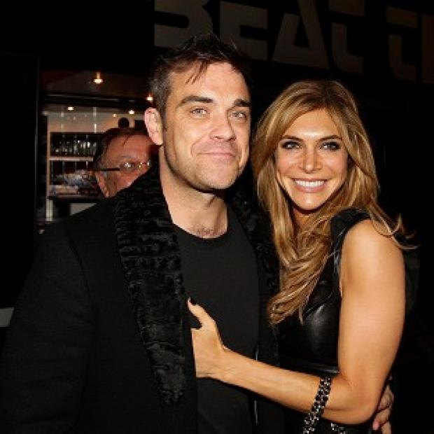 Robbie Williams and Ayda Field welcomed their daughter last month