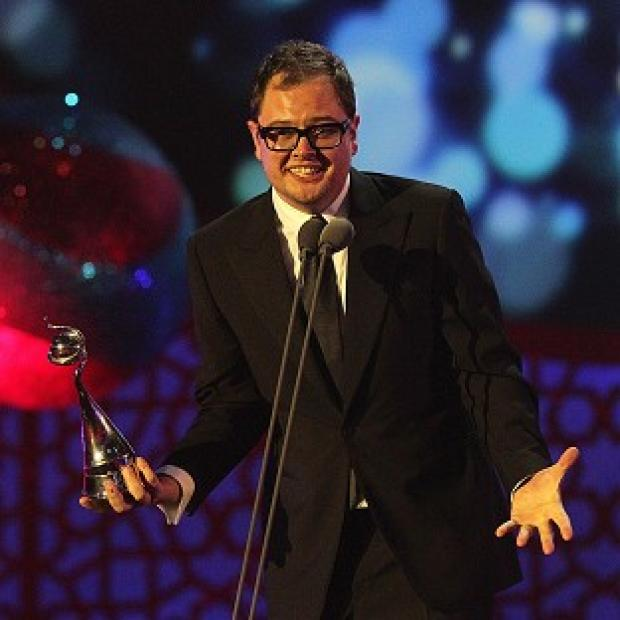 Alan Carr was one of the presenters of the show