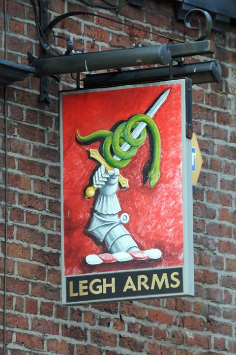 Legh Arms shuts its doors