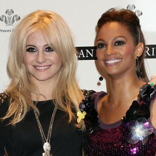 Pixie Lott and Alesha Dixon said it was an honour to perform at the launch