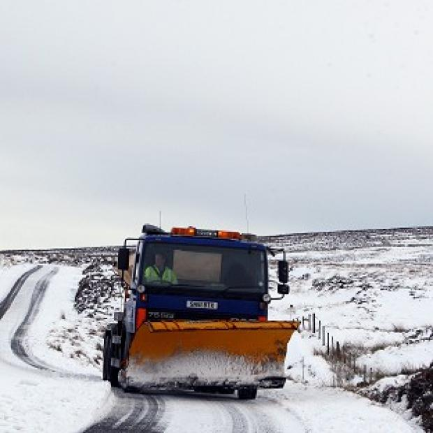 Gritters are on stand by as much colder weather is on the way
