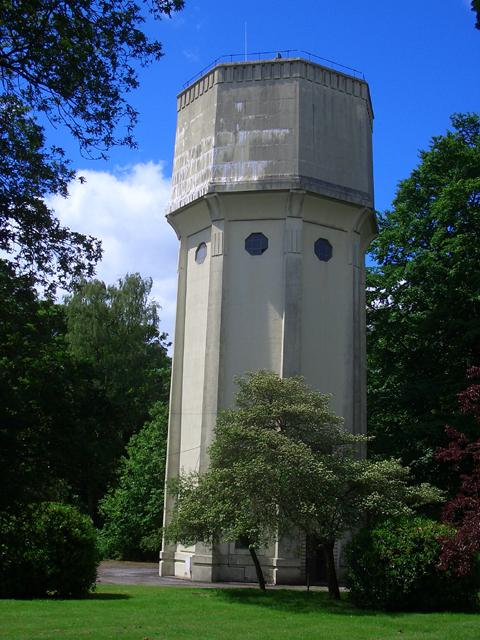 The water tower on Warrington Road