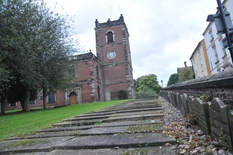 Opinion was divided over whether or not to relocate windows in St Johns Church
