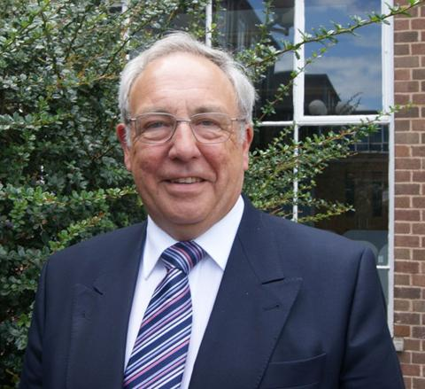 John Dwyer is Cheshire's first police and crime commissioner