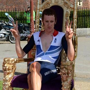 Olympic gold medallist and Tour de France winner Bradley Wiggins has been involved in a collision with a car