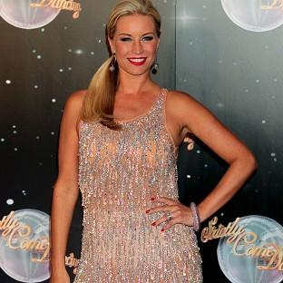 Denise Van Outen scored three perfect 10s in the latest Strictly Come Dancing