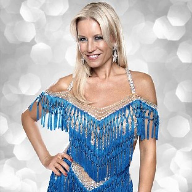 Knutsford Guardian: Denise Van Outen would like to carry on dancing when Strictly is over