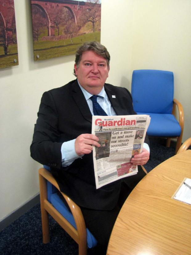 Clr Michael Jones, the leader of Cheshire East Council, looks at the Knutsford Guardian