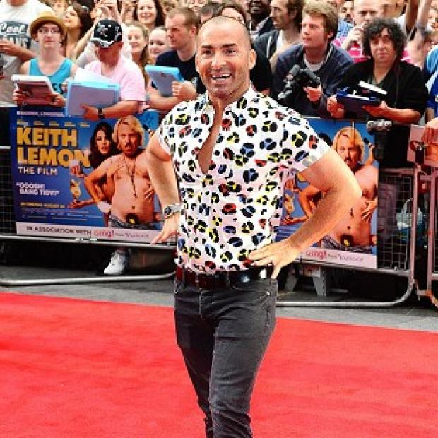 Louie Spence has lost his Dancing On Ice judging role