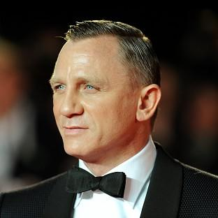 Daniel Craig is among the UK's favourite film stars, a poll found