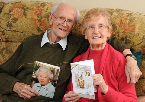 Jack and Rene Tivey are celebrating their 70th wedding anniversary         n125266