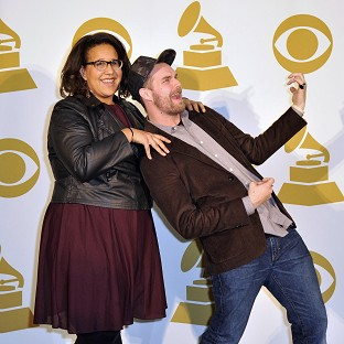 Brittany Howard, left, and Steve Johnson of A