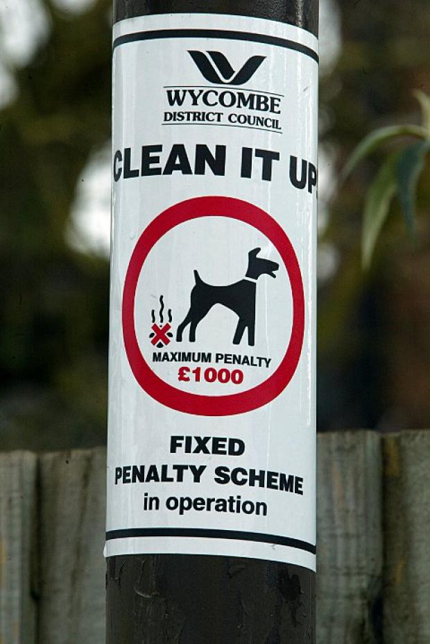 Signs similar to this one could be put up around Knutsford