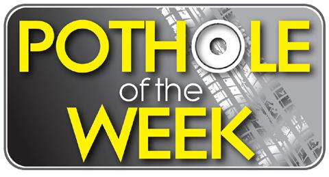 Knutsford Guardian: Pothole of the Week