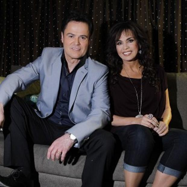 Donny and Marie Osmond are beginning a UK tour