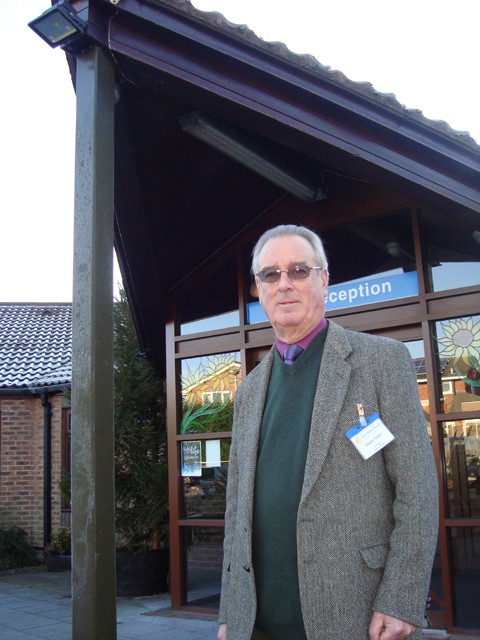 Roger Payne has started researching the hospice