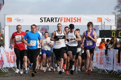 Runners set off in last year's Tatton Park 10k event
