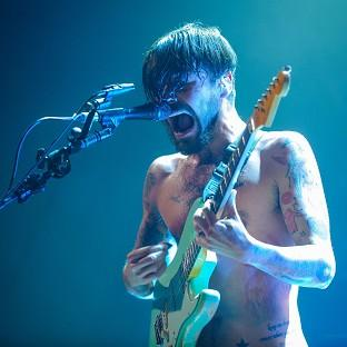 Simon Neil of Biffy Clyro, who have scored their first number one album with Opposites, the Official Charts Company said
