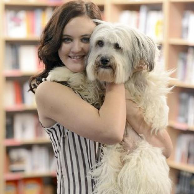 Knutsford Guardian: Ashleigh Butler is preparing Pudsey for his role in a new movie