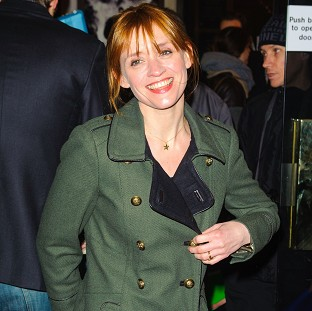 Anne-Marie Duff was among the stars who attended the press night of Macbeth at Trafalgar Studios, in Westminster