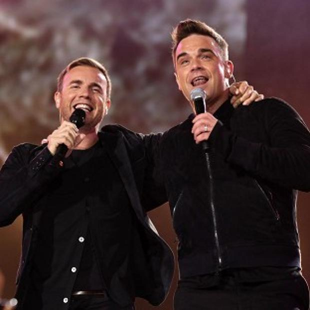 Robbie Williams said he would love to join Gary Barlow on The X Factor, but added that his tour dates clashed with auditions