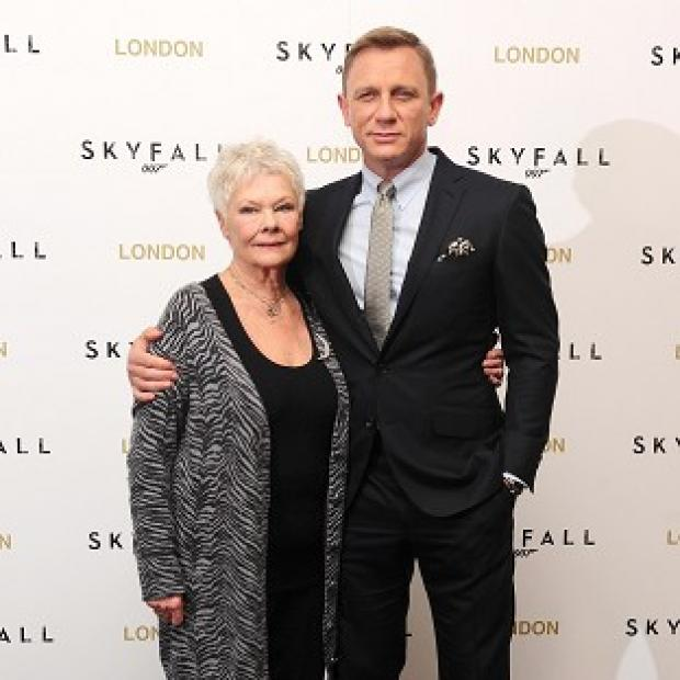 Daniel Craig and Judi Dench are up for gongs at the Empire Awards