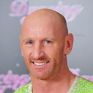 Gareth Thomas had felt sick and dizzy all week while practising for the show
