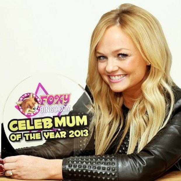 Emma Bunton has been named Foxy Bingo Celebrity Mum of the Year
