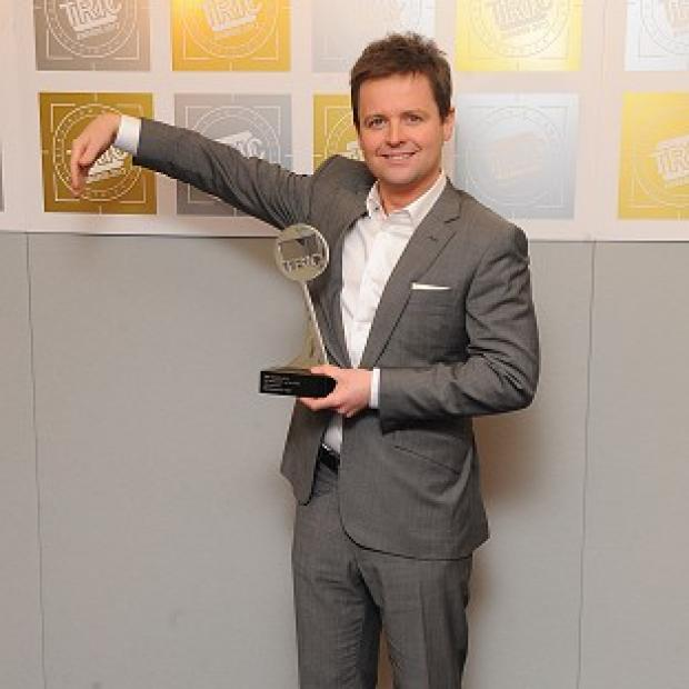 Declan Donnelly accepted his award without Ant McPartlin