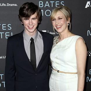 Freddie Highmore and Vera Farmiga star in Bates Motel