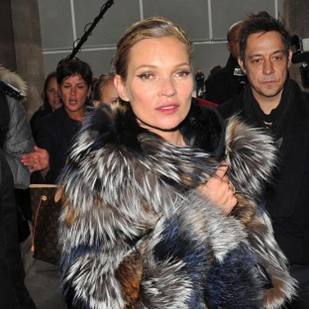 Kate Moss joined in the Comic Relief fun with a steamy read