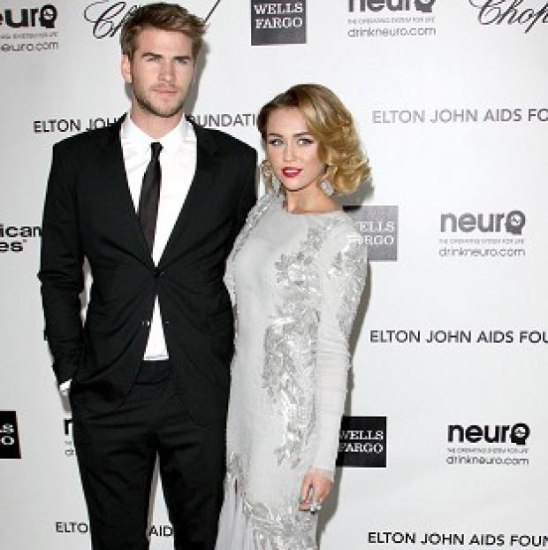 Liam Hemsworth and Miley Cyrus are said to be working things out