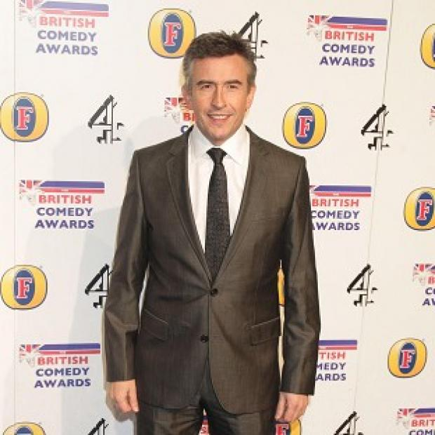 Steve Coogan has revealed the title of his upcoming movie