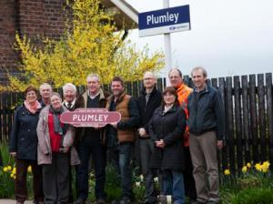 Plumley residents are celebrating after their hard work resulted in their village station being awarded the title of 'tidiest in Cheshire'. Read more here.