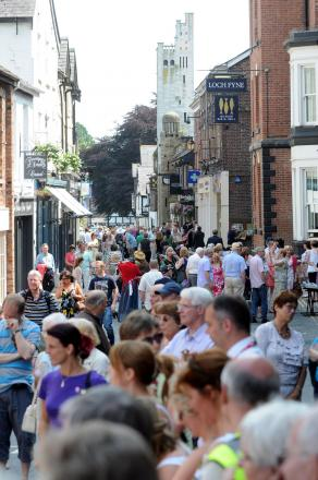Last year's Promenades packed out King Street
