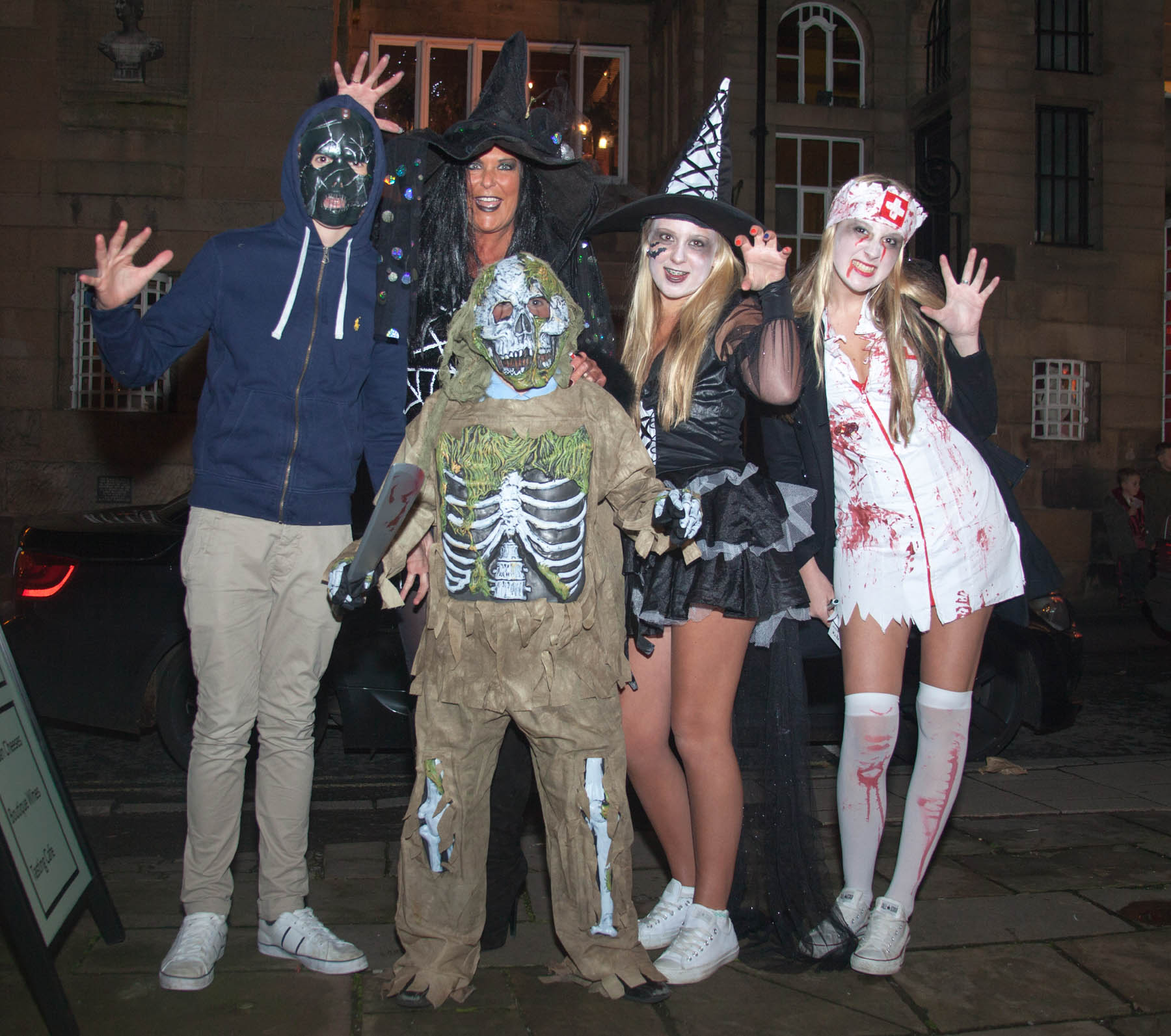 Ghoulish fun for Knutsfordians during first ever Pumpkin Path