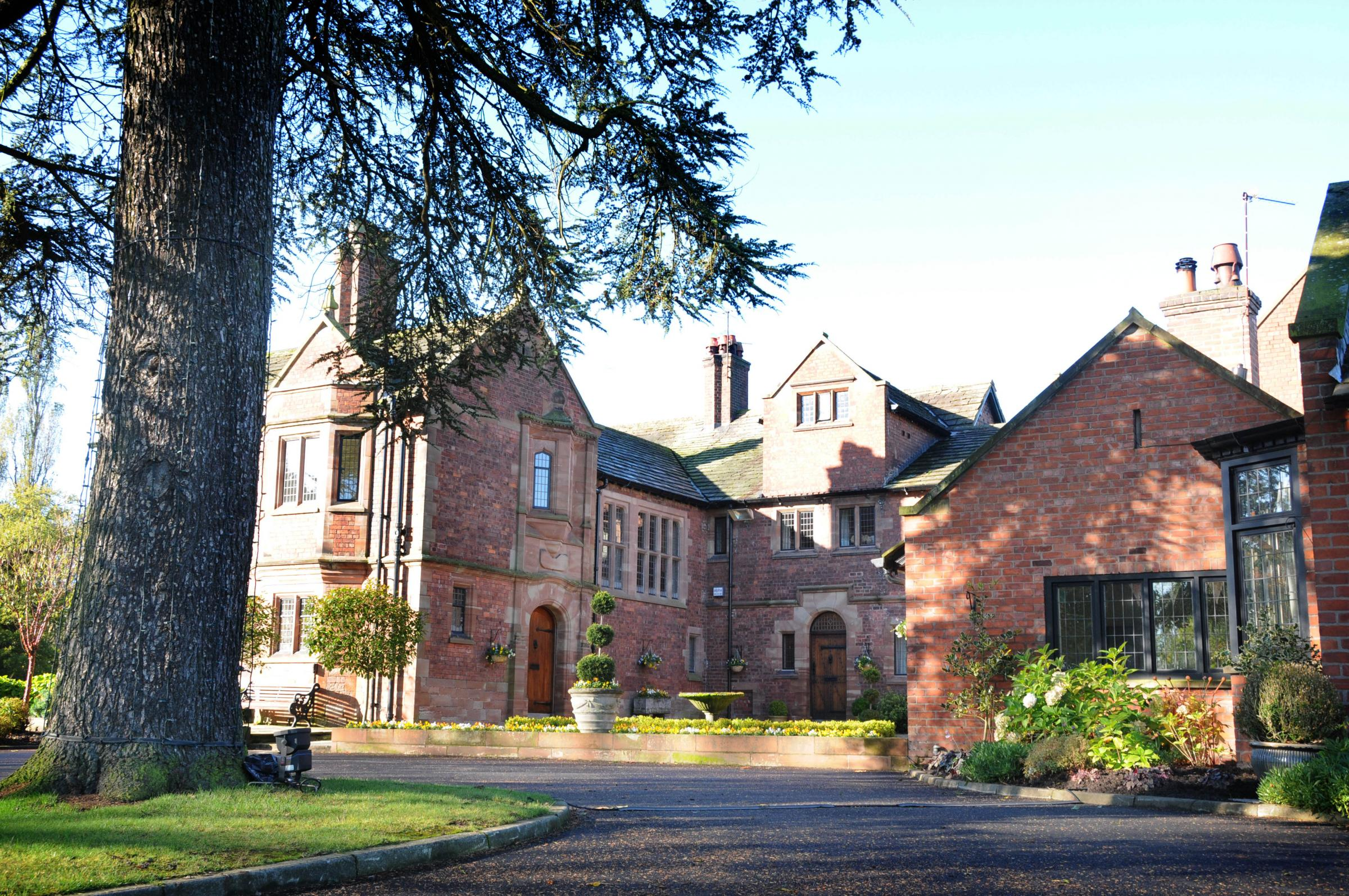 Colshaw Hall in Over Peover