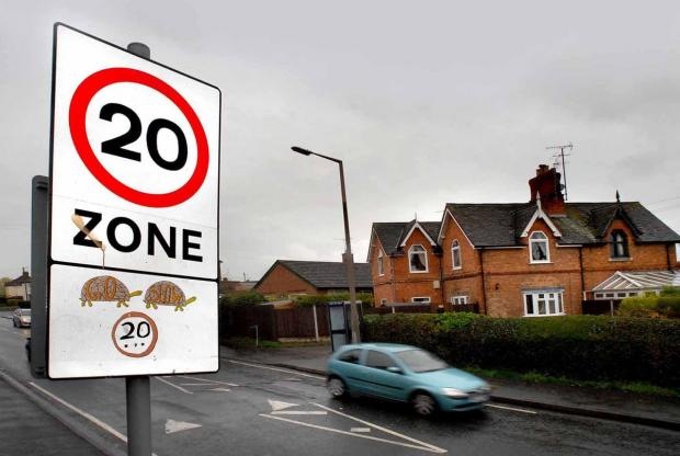 A 20 mph zone could be implemented on Bexton Road