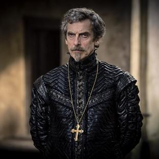 Peter Capaldi plays Cardinal Richelieu in The Musketeers