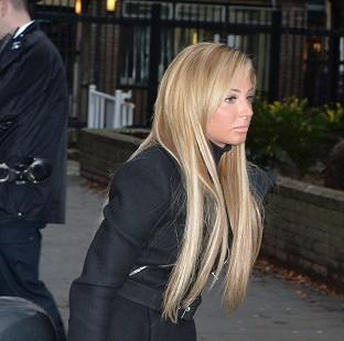Knutsford Guardian: Former X Factor judge Tulisa Contostavlos arrives at Southwark Crown Court