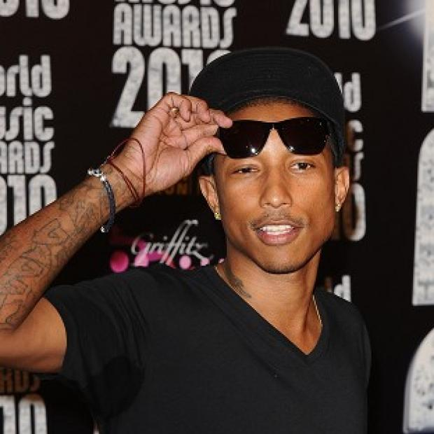 Knutsford Guardian: Pharrell Williams has remained in pole position with his feel-good hit Happy