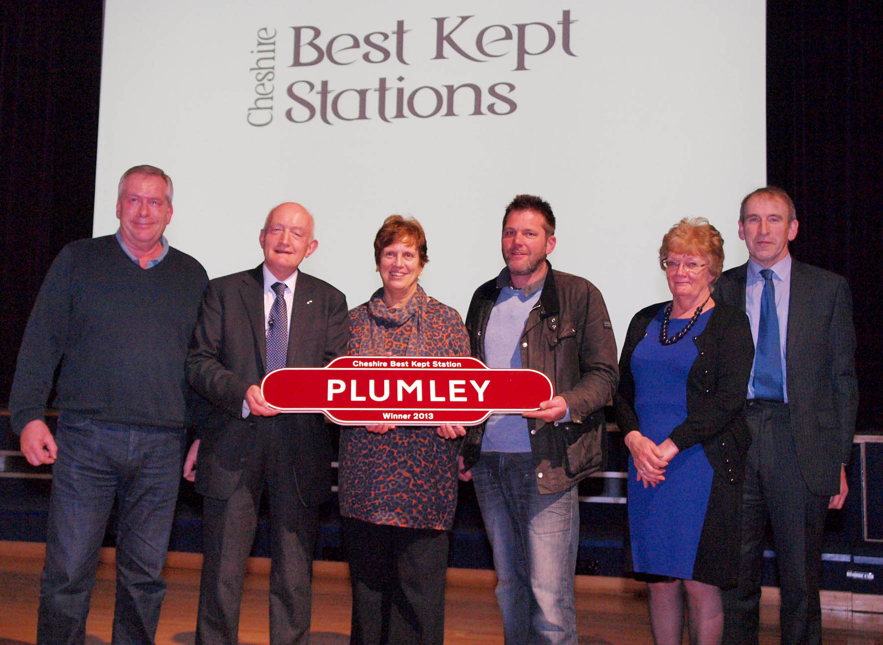 Plumley station claims top prize at Cheshire Best Kept Stations awards